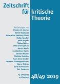 Zeitschrift für kritische Theorie, Heft 48/49 (eBook, PDF)