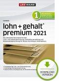 Lexware lohn + gehalt premium 2021 - Jahresversion (365-Tage) (Download für Windows)