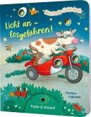 Mein Puste-Licht-Buch: Licht an - losgefahren!