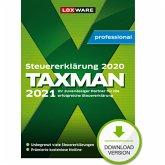 TAXMAN professional 2021 (für Steuerjahr 2020) - 3-Platz-Lizenz (Download für Windows)