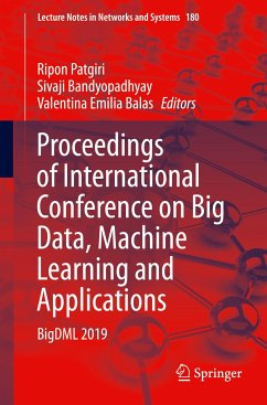 Proceedings of International Conference on Big Data, Machine Learning and Applications