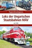 Loks der Ungarischen Staatsbahnen MÁV