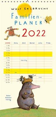 Wolf Erlbruchs Familienplaner 2022 - Erlbruch, Wolf