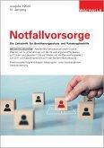 E-Paper Zeitschrift Notfallvorsorge Heft 03/2020 (eBook, PDF)