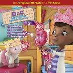 Doc McStuffins Hörspiel - Folge 7: Valentinstag/Schnupfenhilfe/Schneemann in Pink/Karate-Kängurus (Disney TV-Serie) (MP3-Download)