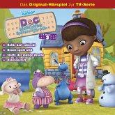 Doc McStuffins Hörspiel - Folge 3: Hallie hört schlecht/ Bronti spielt wild/ Stuffy, der mutige Drache/ Raketenstart (Disney TV-Serie) (MP3-Download)
