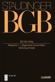 Staudingers Kommentar zum BGB §§ 535-556g (Mietrecht 1 - Allgemeine Vorschriften; Wohnraummiete)