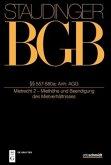 Staudingers Kommentar zum BGB §§ 557-580a (Mietrecht 2 - Miethöhe und Beendigung des Mietverhältnisses)
