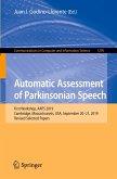 Automatic Assessment of Parkinsonian Speech