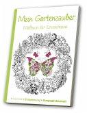 Malbuch für Erwachsene - Gartenzauber