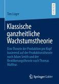 Klassische ganzheitliche Wachstumstheorie (eBook, PDF)