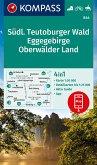 KOMPASS Wanderkarte Südlicher Teutoburger Wald - Eggegebirge - Oberwälder Land