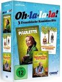 Oh-la-la-la!-3 französische Komödien-Hits DVD-Box