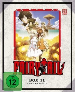 Fairy Tail - TV-Serie - Box 11 (Episoden 253-277) BLU-RAY Box