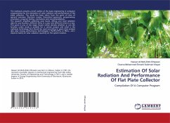 Estimation Of Solar Radiation And Performance Of Flat Plate Collector