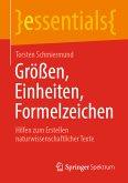 Größen, Einheiten, Formelzeichen (eBook, PDF)