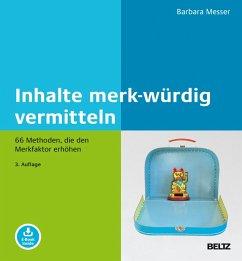 Inhalte merk-würdig vermitteln (eBook, PDF) - Messer, Barbara