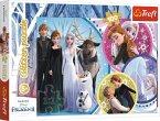 Disney Frozen Glitterpuzzle, Im Schein der Liebe (Kinderpuzzle)