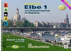 TourenAtlas Nr.7 Elbe-1 - Jübermann, Erhard