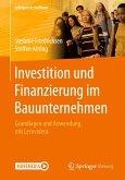 Investition und Finanzierung im Bauunternehmen