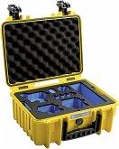 B&W GoPro Case Type 3000 Y gelb mit GoPro 9/10 Inlay