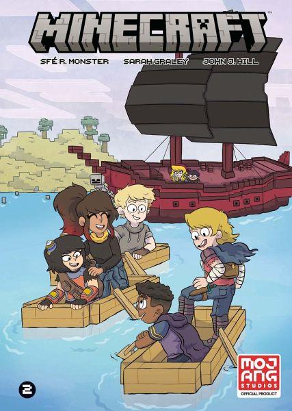 Buch-Reihe Minecraft Comic