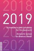 Schweizerisches Jahrbuch für Kirchenrecht / Annuaire suisse de droit ecclésial 2019