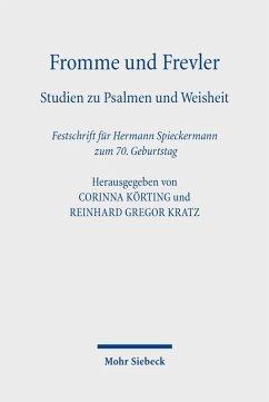 Fromme und Frevler (eBook, PDF)