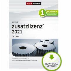 Lexware zusatzlizenz 2021 - 2 User - Jahresversion (365 Tage) (Download für Windows)