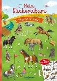 Mein Stickeralbum Pferde & Ponys