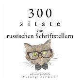 300 Zitate von russischen Schriftstellern (MP3-Download)