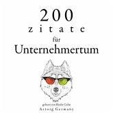 200 Zitate für Unternehmertum (MP3-Download)
