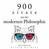 900 Zitate aus der modernen Philosophie (MP3-Download)