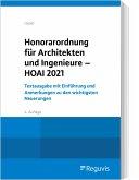 Honorarordnung für Architekten und Ingenieure - HOAI 2021