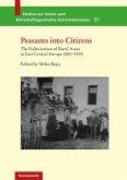 Peasants into Citizens (eBook, PDF)