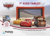 "Pepple Gear 7"" KIDS TABLET - Disney Pixar Cars, Kinder-Tablet, rot-schwarz"