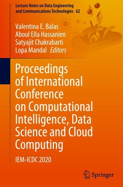 Proceedings of International Conference on Computational Intelligence, Data Science and Cloud Computing: Iem-ICDC 2020