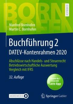 Buchführung 2 DATEV-Kontenrahmen 2020 - Bornhofen, Manfred;Bornhofen, Martin C.