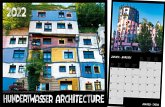 Hundertwasser Broschürenkalender Architektur 2022