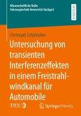 Untersuchung von transienten Interferenzeffekten in einem Freistrahlwindkanal für Automobile