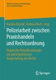 Polizeiarbeit zwischen Praxishandeln und Rechtsordnung (eBook, PDF)