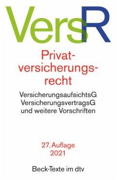 Privatversicherungsrecht VersR