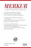 MERKUR Gegründet 1947 als Deutsche Zeitschrift für europäisches Denken - 2020-12