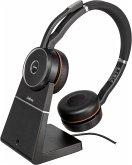 Jabra Evolve 75 UC Wireless Stereo On-Ear Headset BT