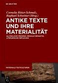 AntikeTexteundihreMaterialität (eBook, ePUB)