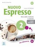Nuovo Espresso 2 - einsprachige Ausgabe. Buch mit Code