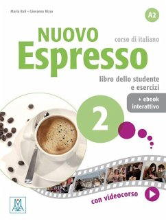 Nuovo Espresso 2 - einsprachige Ausgabe. Buch mit Code - Balì, Maria;Rizzo, Giovanna