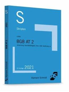 Skript BGB AT 2 - Lüdde, Jan S.