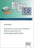 Entwicklung von Al(1-x)Sc(x)N-basierten BAW-Komponenten für breitbandige Mobilfunkfilter