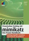 Penetration Testing mit mimikatz (eBook, PDF)